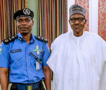 "FG confirms Adamu Mohammed as Inspector General of Police""congrat"