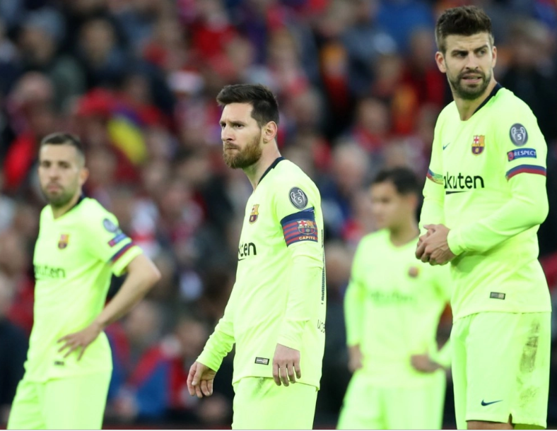 Barcelona squad are still suffering psychologically after they were battered and knocked out by Liverpool from Champions League