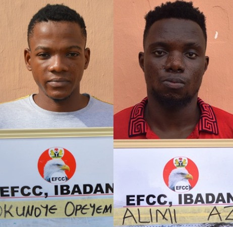 Photos: Corps Member, Graduate, Two Others Jailed For Internet Fraud