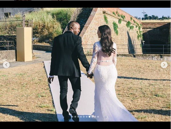 Kim Kardashian shares beautiful wedding photos on 5-Year Anniversary with Kanye West