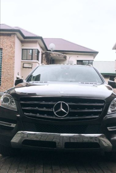 Photos: Jaywon gifts himself a Mercedes Benz ML350 to celebrate his birthday