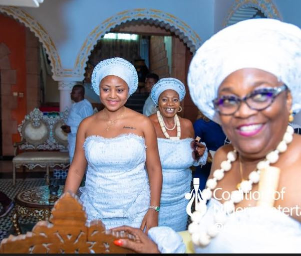 Regina Daniels inducted into womanhood at delta