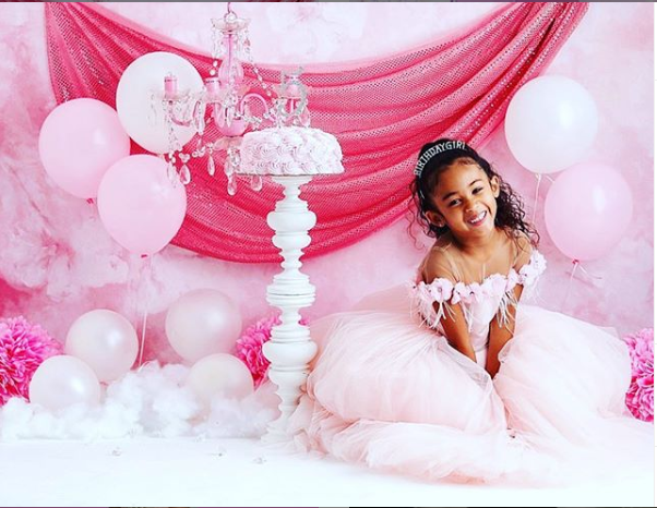 Chris Brown shares cute photos of his daughter to celebrate her 5th birthday