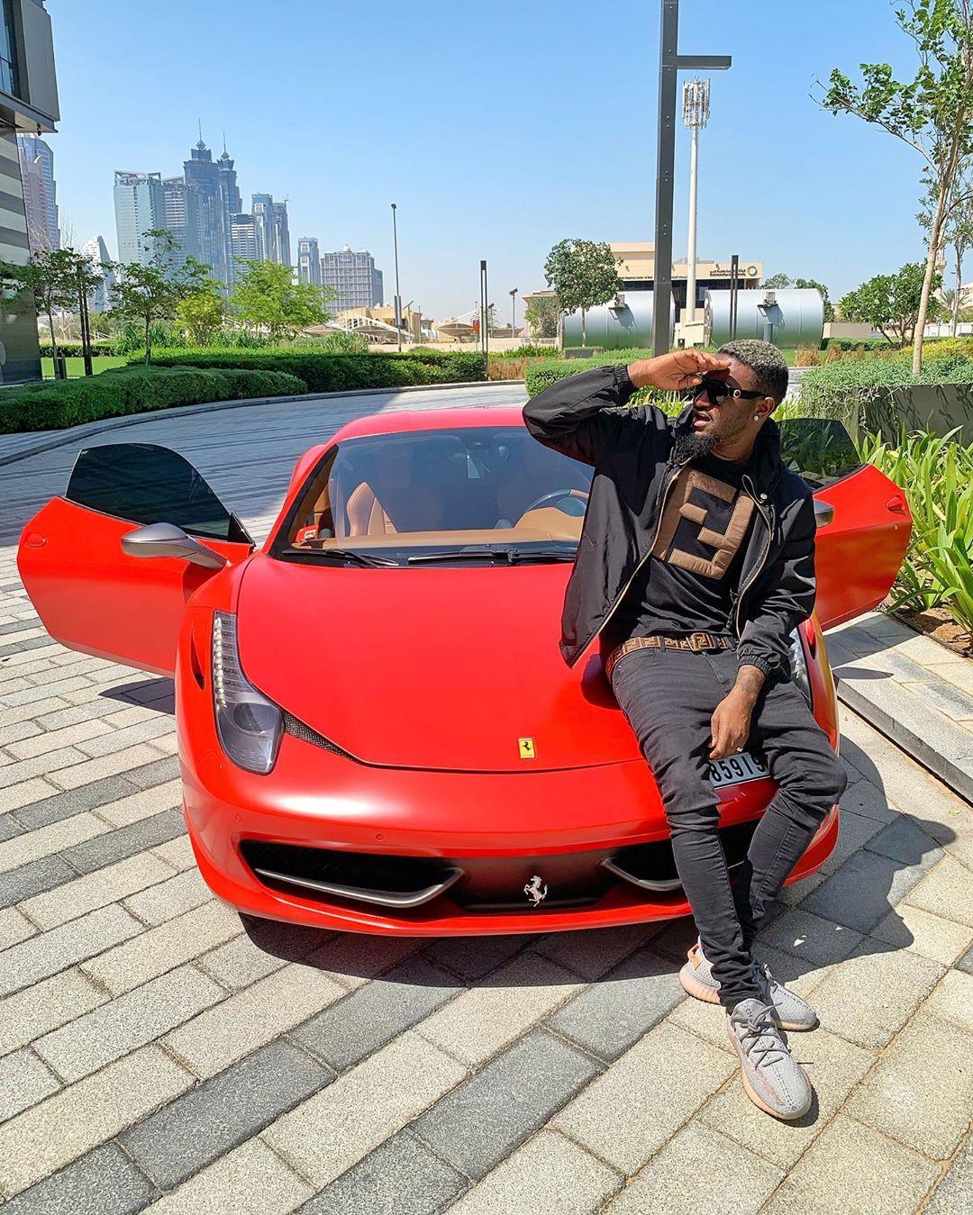 Nigerian Entrepreneur/Musician BNaira acquires multi-million naira Ferrari, releases new music ?Fall on Me?.