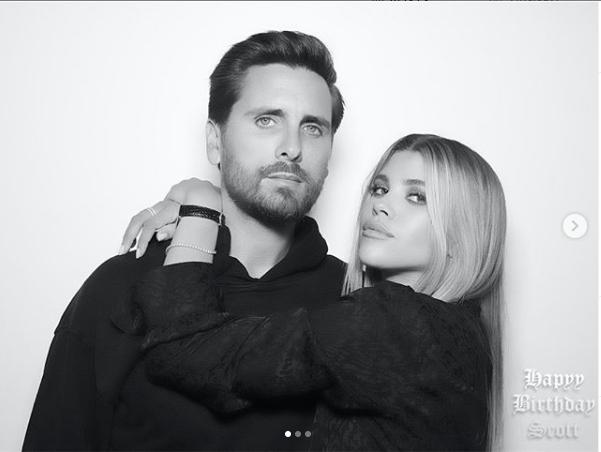 Sofia Richie shares photos with her man Scott Disick & his ex-Kourtney Kardashian on his 36th birthday