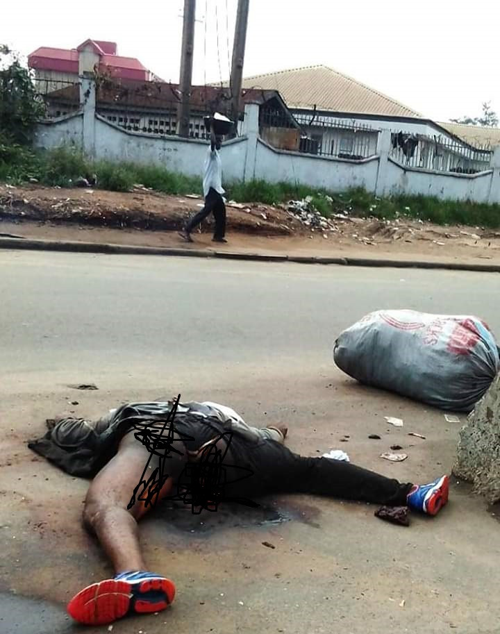 Update: Man found dead by a roadside in Aba, identified as soldier from Abia State