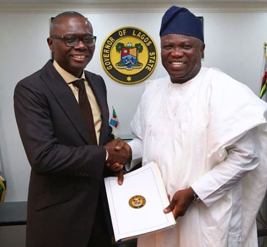 Full text of Governor Ambode?s farewell speech as he hands over to Babajide Sanwo-olu