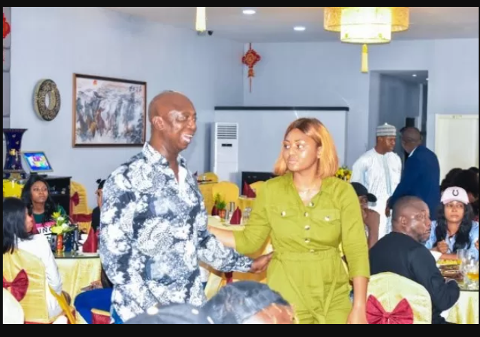 See the moment Regina Daniel introduced her