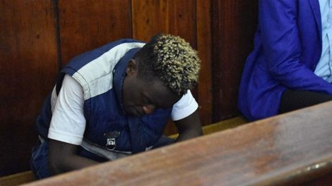 Photo: Young man arraigned for having sex in broad daylight at Uhuru Park, Nairobi
