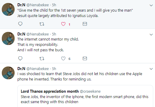 Nigerian mum kicks against parents giving phones to their children under 15, gives reasons