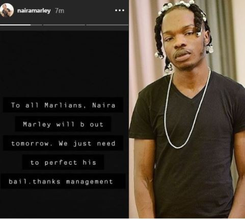 Naira Marley will be out tomorrow once we perfect his bail conditions - Management