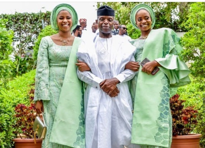 Beautiful photos of VP Yemi Osinbajo and his family
