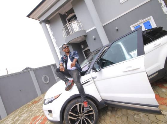 Juju musician, Mega 99 shows off his new Range Rover evoque (Photos)