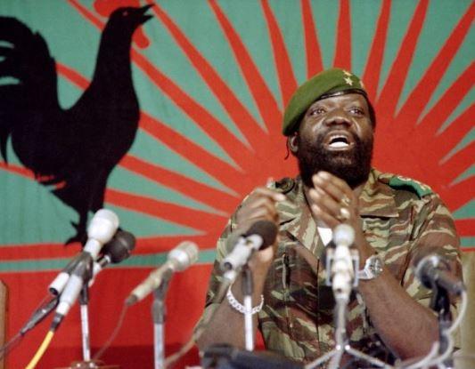 Legendary Angola rebel chief, Jonas Savimbi gets public burial 17 years after death (Photo)