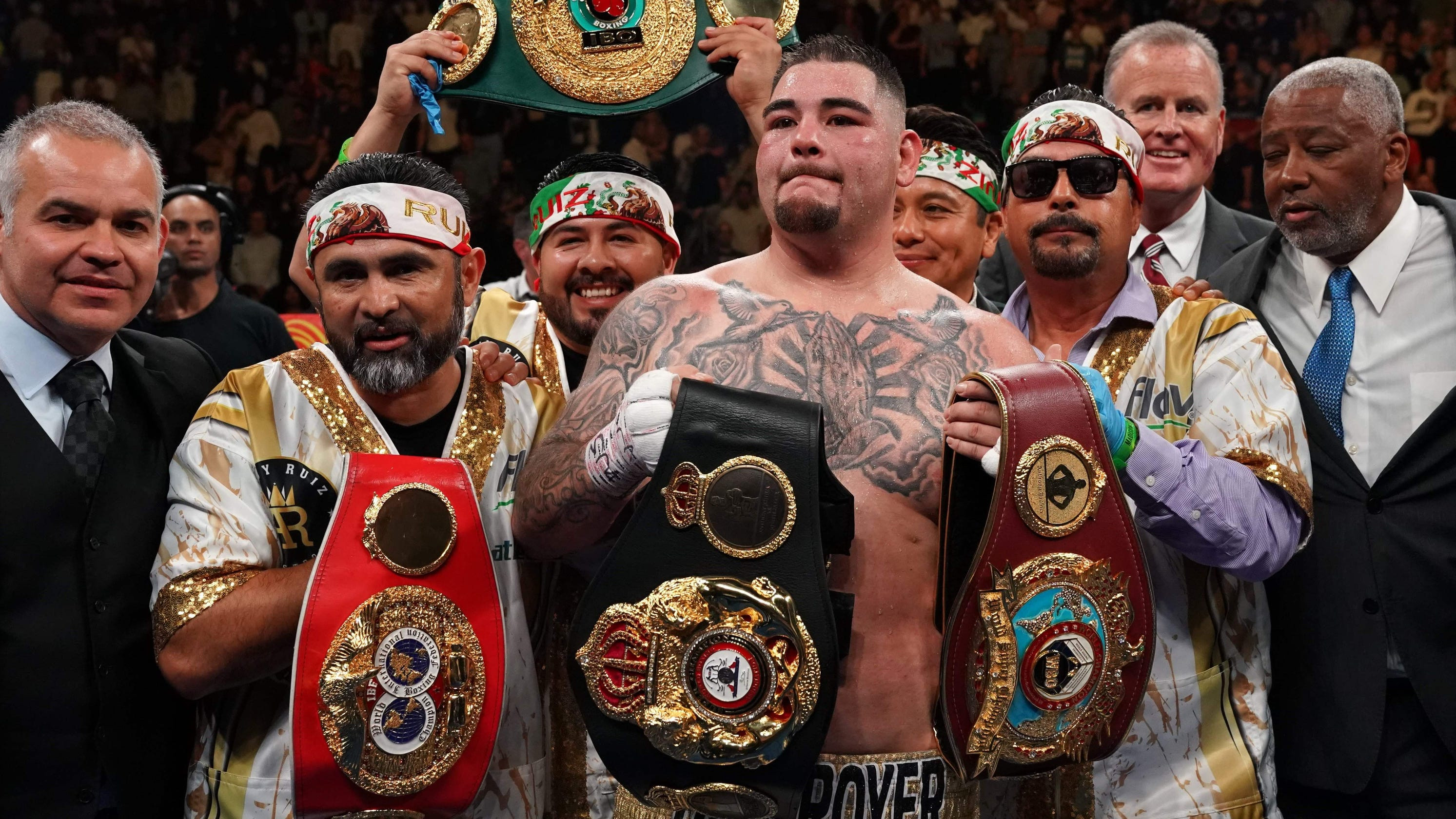 Anthony Joshua will earn ?20 million despite losing while Andy Ruiz Jr will take home just ?5m after winning the world title fight