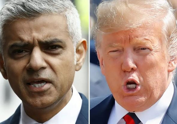 Sadiq Khan By All Accounts Has Done A Terrible Job As Mayor Of London And Has Been Foolishly ?nasty? To Me - President Trump