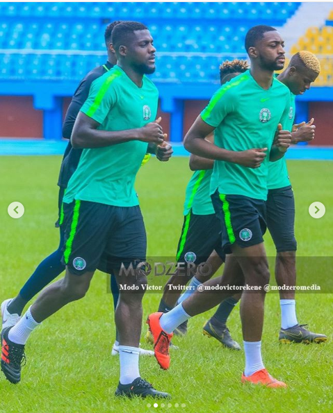 Super Eagles stars begin preparations in Asaba ahead of 2019 AFCON in Egypt (Photos)