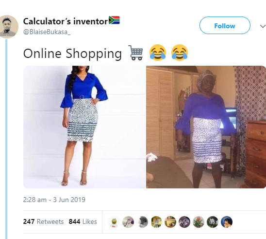 Woman buys a dress online but see what she got