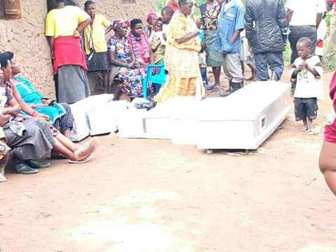Graphic: Woman hacks her daughter, six grandchildren to death in Uganda