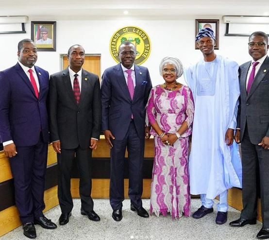 Lagos State Governor, Babajide Sanwo-Olu swears in six?newly-appointed Permanent Secretaries