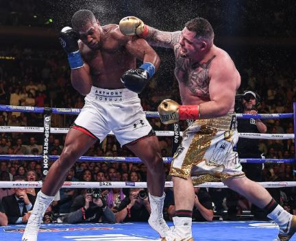 Andy Ruiz demands ?40m for a rematch with Anthony Joshua in the UK