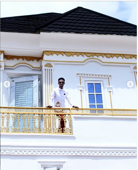 Comedian, I Go Dye, shares more photos of the massive house he built for his 9-year-old son as birthday gift