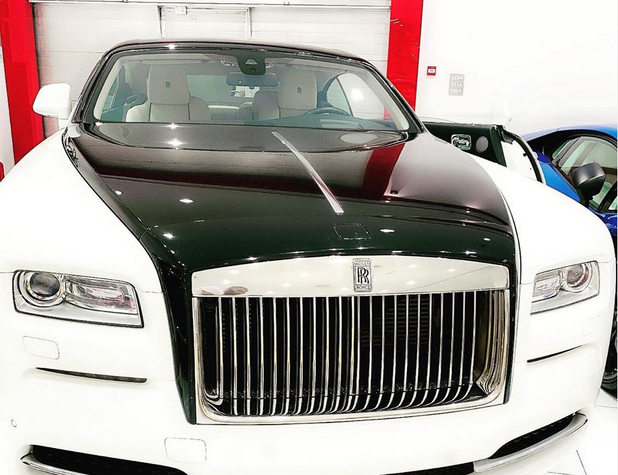 Singer Dbanj gifts himself brand new Rolls Royce for his birthday