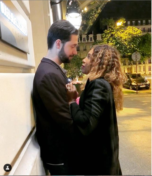 Serena William shares new loved-up photo with husband Alexis Ohanian and her caption is heart-melting
