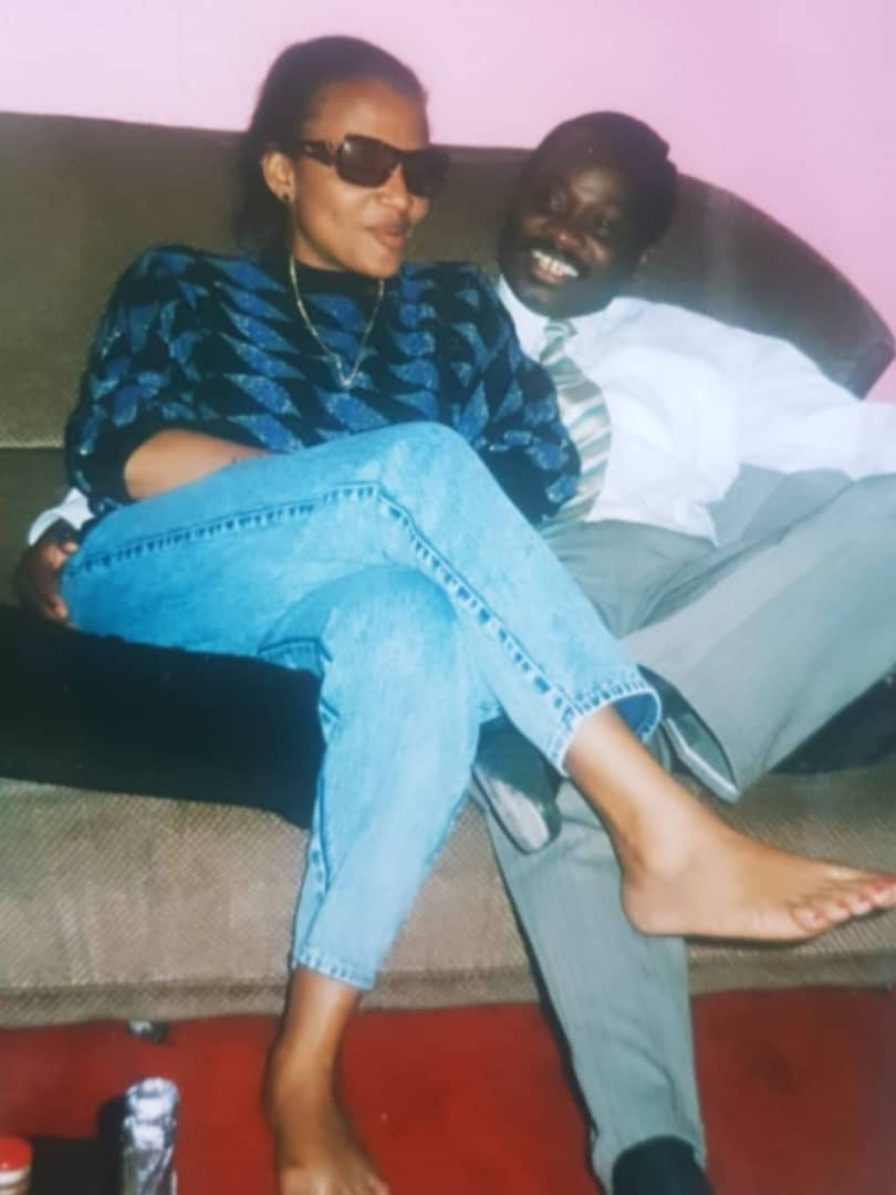 Check out this throwback photo of ex-Oyo governor, Abiola Ajimobi and his wife, Florence