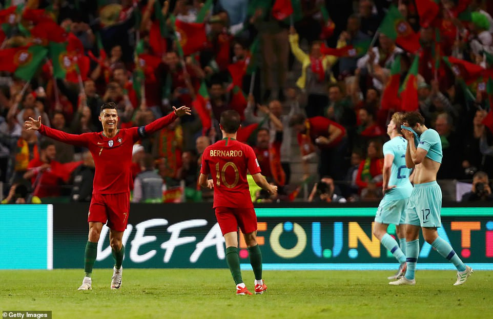 Cristiano Ronaldo leads Portugal to victory against Netherlands to win the maiden Nations League trophy