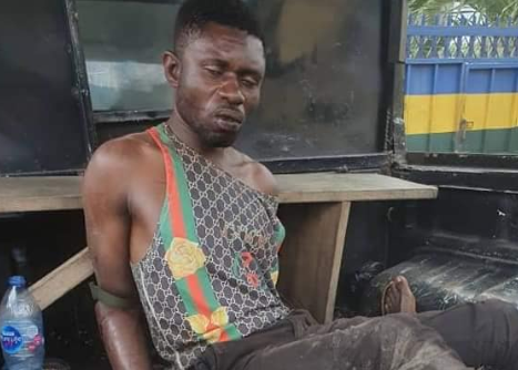 Graphic: Rivers police arrest one robber, kills another during gun battle