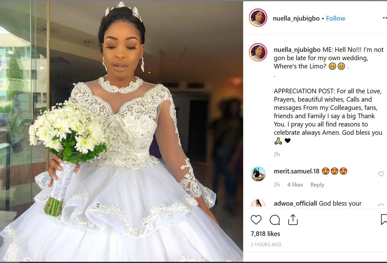 Tchidi Chikere and Nuella Njubigbo celebrate wedding anniversary