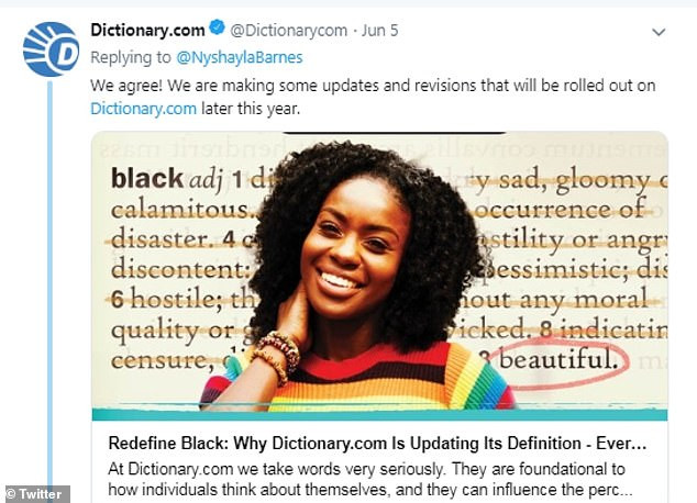 Dictionary.com reveals plans to update the definition of the word