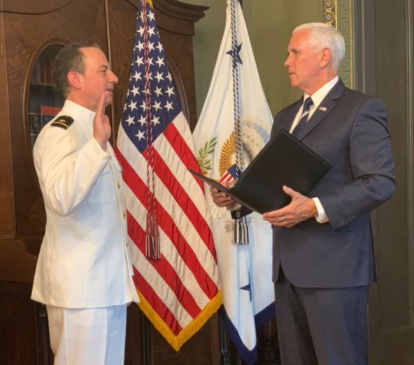 Former Trump chief of staff Reince Priebus officially joins US Navy