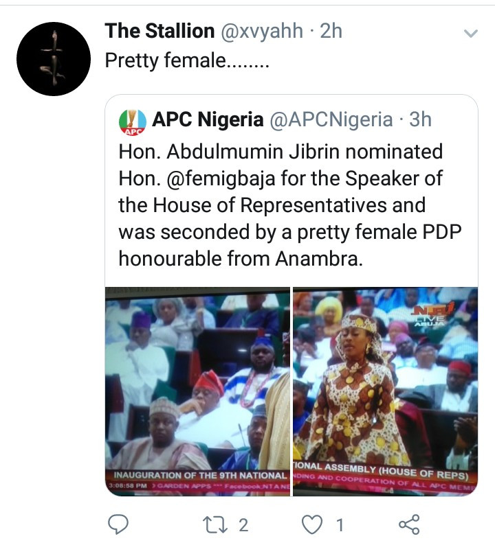 "Outrage as APC refers to Linda Ikpeazu as ""pretty female honourable from Anambra"""