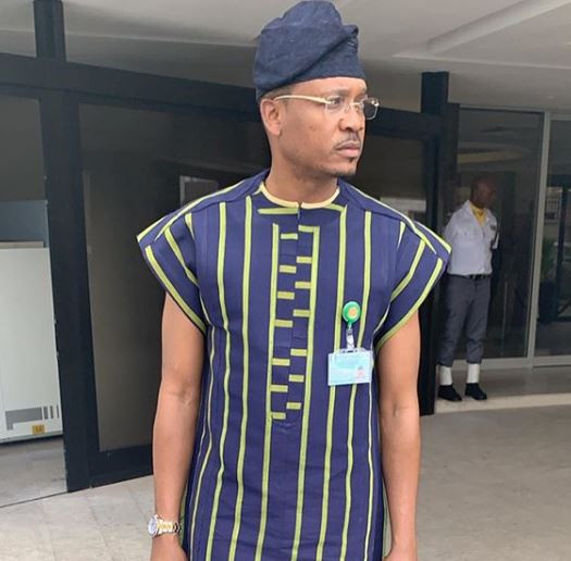 Photos:?Quilox night club owner, Shina Peller, Akin Alabi resume as House of Representative members in Abuja