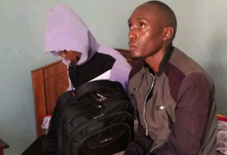 Photo: Man busted with school girl in Nairobi guesthouse