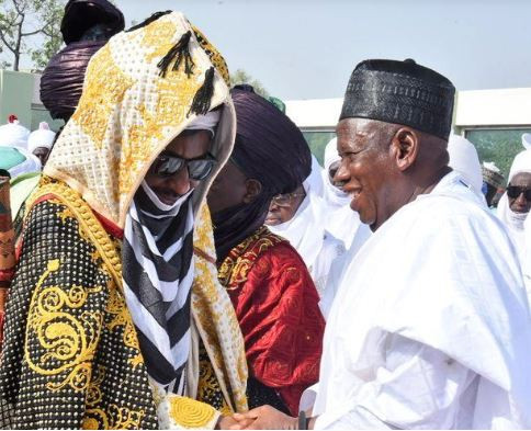 Kano State Governor, Umar?Ganduje demands apology from Emir Sanusi