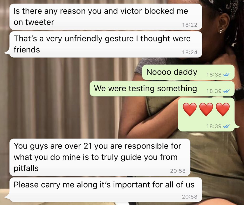 Nigerian siblings block their father on Twitter but his reaction when he found out is so polite