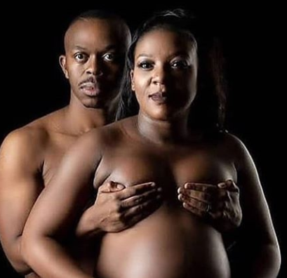 Shock, as couple stir online with Nude maternity shoot [18+]