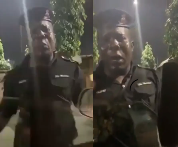 Nigerian Policeman duped by Yahoo Boys using