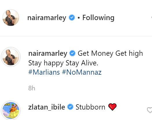 Get money, get high, stay happy, stay alive - Naira Marley