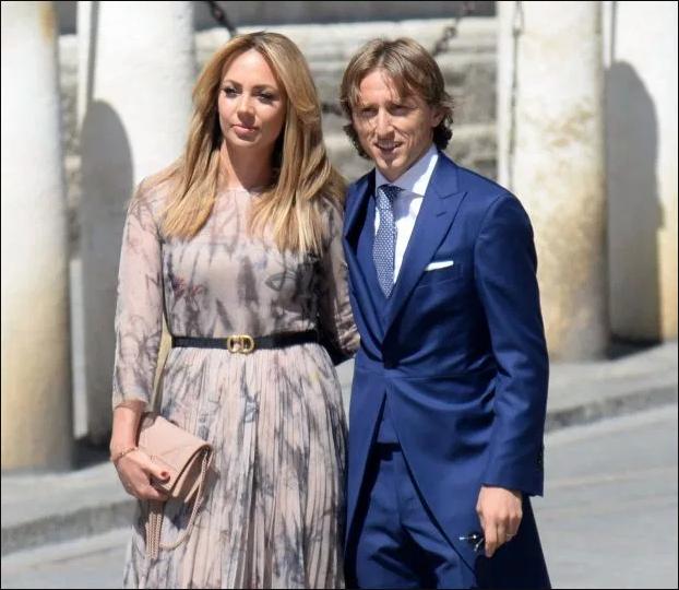 David and Victoria Beckham join football stars at Sergio Ramos