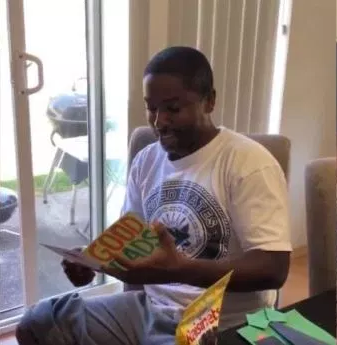 Viral video shows stepfather's emotional reaction when his stepdaughters informed him they will like to take his surname