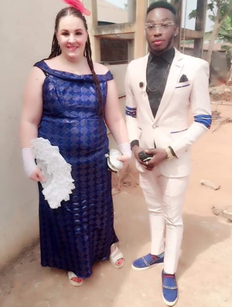 "Trending FB post shared by Yahoo boy who fell in love with his ""maga"" and married her after she paid his ""groom price"""