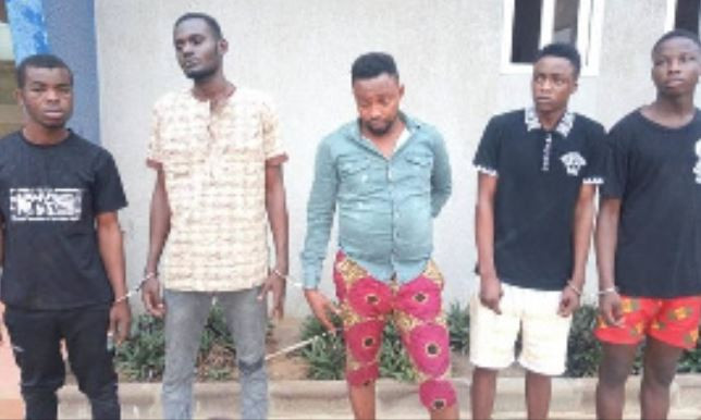 Five Nigerians arrested in Ghana for raping a lady in her husband?s presence