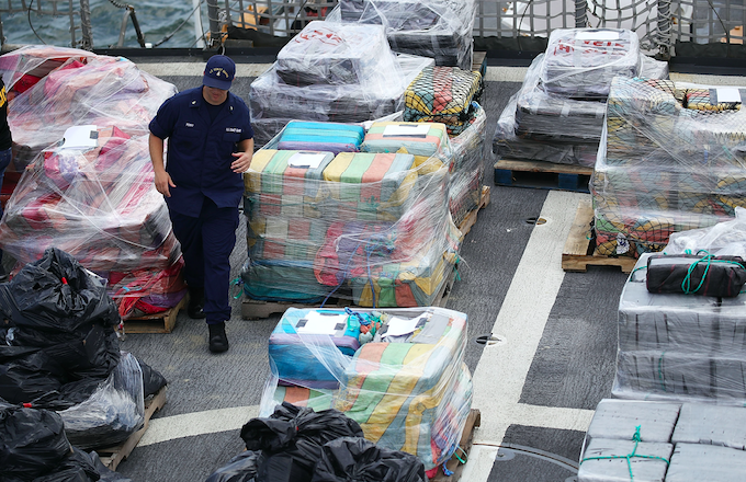 More than 16 tons of cocaine worth $1Billion Dollars seized in Philadelphia raid?(Photos)