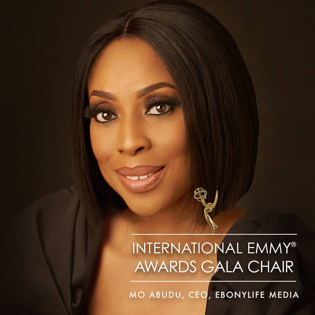 Mo Abudu to chair the 47th International Emmy Awards Gala this November in New York City