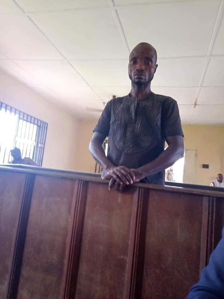Update: 40-year old father of three who abducted and raped 13-year-old girl in Rivers arraigned in court (photos)