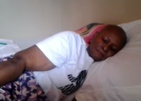 Woman suffering from cancer makes a wish to see Davido and he responds (Video)